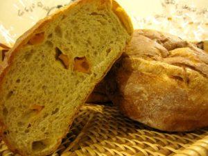 蜜釀芒果麵包