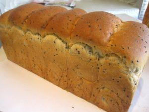 風味黑芝麻吐司麵包